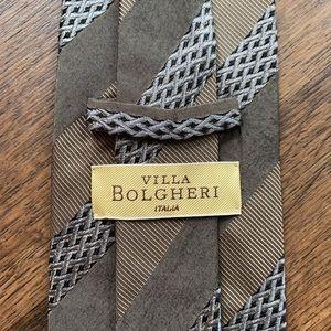 Villa Bolgheri Woven Italian Silk Hand Made Tie